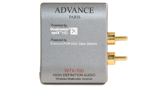 Advance Acoustic WTX-700 aptX HD, Bluetooth-mottagare i gruppen Mediaspelare / Bluetooth hos Ljudfokus.se (320WTX700)