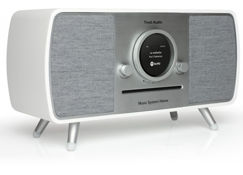 Tivoli Audio Music System Home, Vit i gruppen Streaming / Bluetooth hos Ljudfokus.se (404TAMSYHWH)
