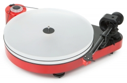 Pro-Ject RPM-5 Carbon, pianoröd skivspelare med MC Quintet Red