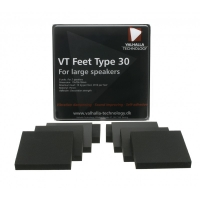 Valhalla Technology VT-Feet 30, 8-pack dämpfötter