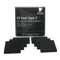 Valhalla Technology VT-Feet 7, 8-pack dämpfötter