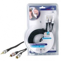 HQ Stereokabel 3.5mm - 2RCA