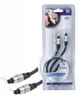 HQ Optisk Toslink-kabel 0,75-10m
