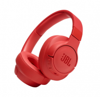 JBL Tune 750BTNC, over-ear hörlur med brusreducering, röd