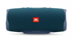 JBL Charge 4 portabel Bluetooth-högtalare, blå