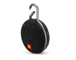 JBL Clip 3, portabel Bluetooth-högtalare, Midnight Black