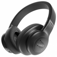 JBL E55BT, over-ear hörlur med Bluetooth, svart