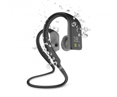 JBL Endurance Dive, in-ear sporthörlurar med Bluetooth, svart