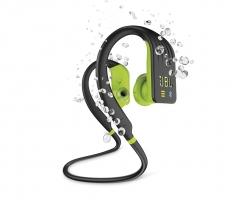 JBL Endurance Dive, in-ear sporthörlurar med Bluetooth, lime