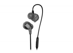 JBL Endurance Run, in-ear sporthörlurar, svart