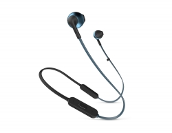 JBL Tune 205BT, in-ear hörlurar med Bluetooth, blå