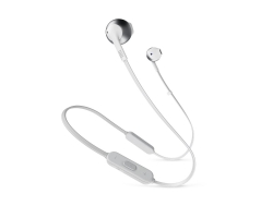 JBL Tune 205BT, in-ear hörlurar med Bluetooth, silver