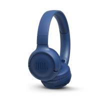 JBL Tune 500BT on-ear hörlur med Bluetooth, blå