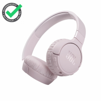 JBL Tune 660NC on-ear hörlurar med Bluetooth, brusreducering & Pure Bass, rosa