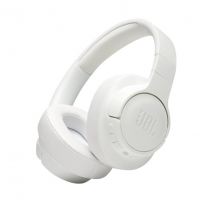 JBL Tune 750BTNC, over-ear hörlur med brusreducering, vit