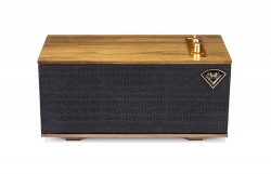 Klipsch The One, aktiv högtalare med Bluetooth, valnöt