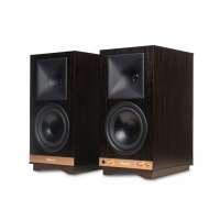 Klipsch The Sixes, aktiva Vintage-högtalare med Bluetooth, ebony