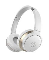 Audio Technica ATH-AR3BT On-Ear med Bluetooth, vit
