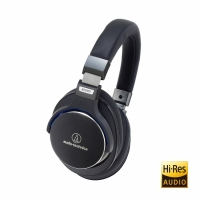 Audio Technica ATH-MSR7 Over-Ear hörlur, svart