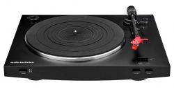 Audio Technica AT-LP3 skivspelare med AT91-pickup, svart