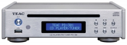 Teac PD-301DAB-X CD-spelare/radiodel, silver