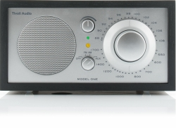 Tivoli Audio Model One, FM-radio svart/silver
