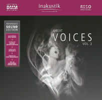 Inakustik Great Voices vol.II 180 grams dubbel-LP