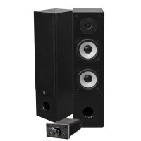 Dayton Audio DTA-120BT & System One HCS-6 svart