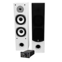 Dayton Audio DTA-120BT & System One HCS-6 vita