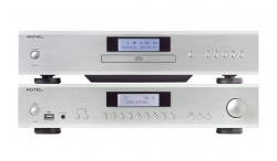 Rotel A12 & CD14 stereopaket, silver