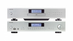Rotel A14 & CD14 stereopaket, silver