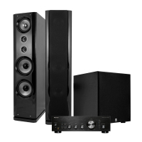 Pioneer A-40AE & System One SF-168B Stereopaket med bas