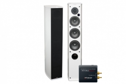 Advance Acoustic Air-120 aktiva högtalare med WTX-MicroStreamer