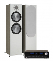 Advance Acoustic Playstream A7 & Monitor Audio Bronze 500 6G Urban Grey