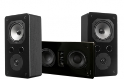 DLS Flatsub Stereo One & Dynavoice Challenger S-5 EX v4, högtalarpaket