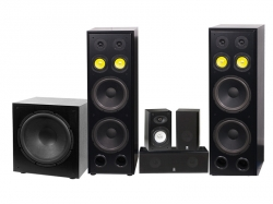 System One H212B Hembiopaket med W-15 subwoofer