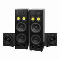System One H212B & 2 st W120, högtalarpaket 2.2
