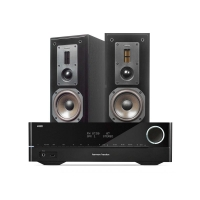 Harman Kardon HK3700 & Dynavoice Definition DX-5, svart par