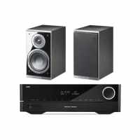 Harman Kardon HK3700 & Magnat Shadow 203, svart par