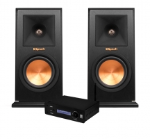 Klipsch RP-150M & System One A50BT, stereopaket