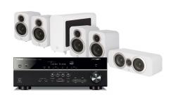 Yamaha RX-V585   Q Acoustics 3010i högtalarpaket 5.1 0f5279f86a403