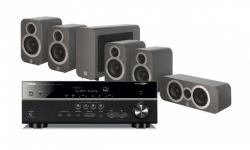 Yamaha RX-V585   Q Acoustics 3010i högtalarpaket 5.1 915b07b86ccb9