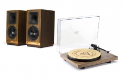 Klipsch The Sixes Vinyl Pack, valnöt