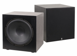 System One W-15, 2-pack svarta subwoofers