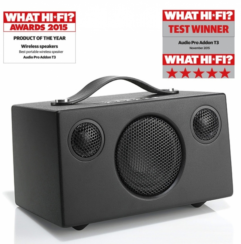 Audio Pro Addon T3 batteridriven Bluetooth-högtalare 44fb439bc29d3