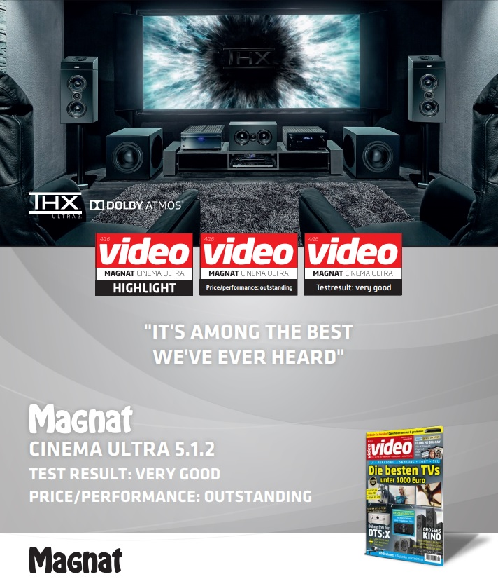 Magnat Cinema Ultra THX Dolby Atmos Högtalarpaket 5.1.2 Magnat ... 9e334e6b086e0