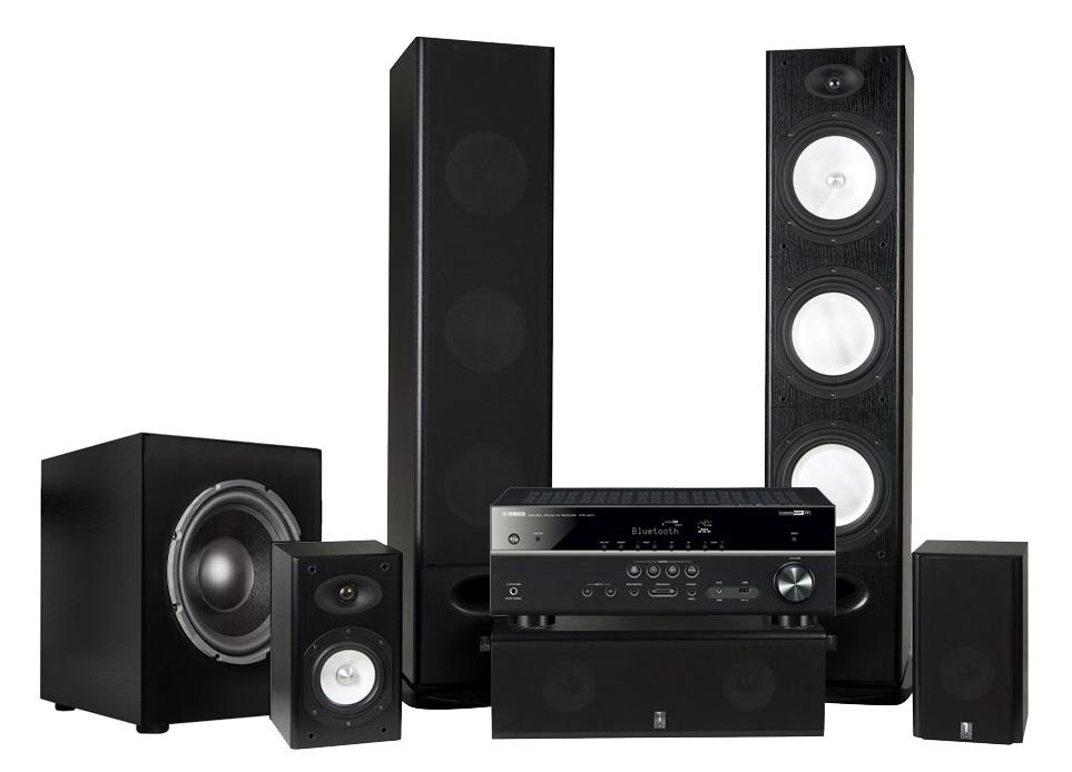 System One H388 med Dynavoice Sub12   Yamaha HTR-4072 853aefe4c6fb4