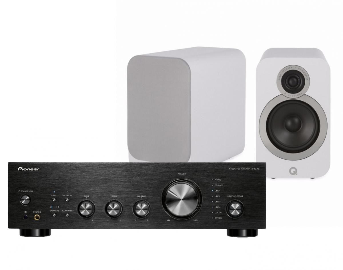 Pioneer A-40AE   Q Acoustics 3020i vita c6e31cf52bba7