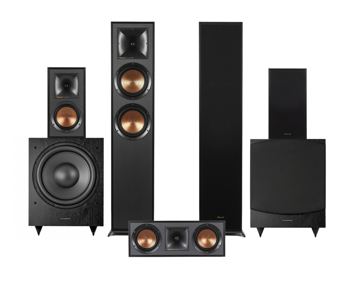 Klipsch R-620F högtalarpaket 5.2 37946891500ad