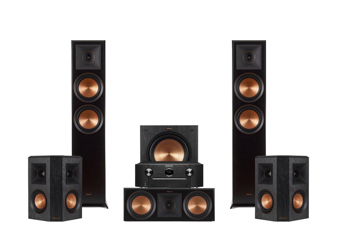 Marantz SR6013   Klipsch RP-6000F högtalarpaket 5.1 e8237e3f64fd8